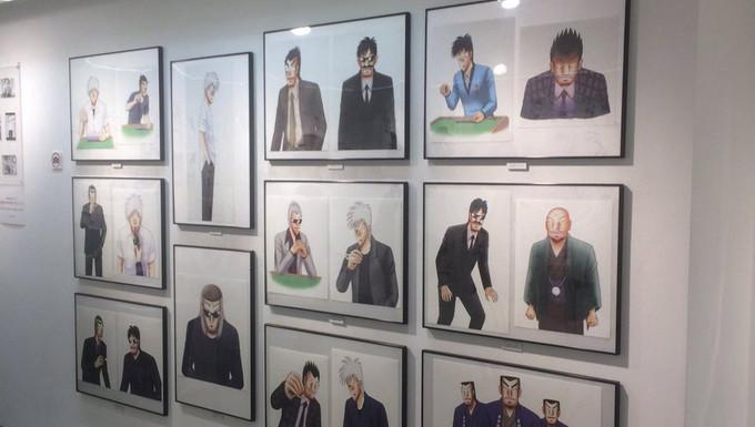 連載25周年「アカギ ~闇に降り立った天才~」展 、中野pixiv Zingaroにて開催中!
