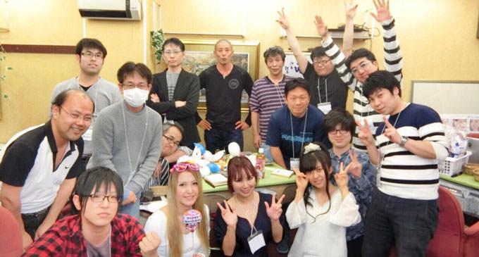麻雀学園オフ会レポート!梶やんが飯田橋に「麻雀ロン」をオープン!