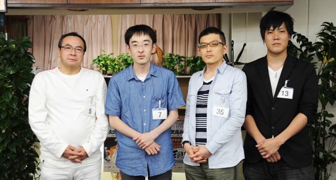 第5回全国麻雀選手権 ファイナリスト4名が決定!8月19日(土)に決勝戦!