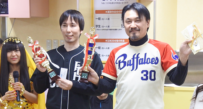 最高位戦ペアマッチ2018 加藤哲郎さん・ASAPINペアが優勝