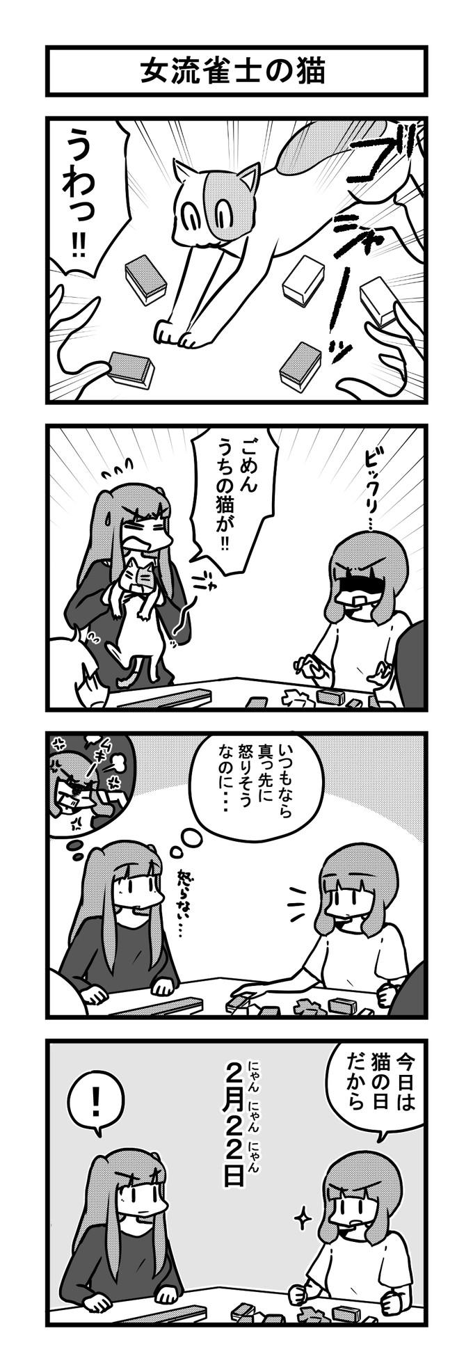 1023女流雀士の猫-min