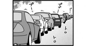 第1025話 女流雀士と渋滞