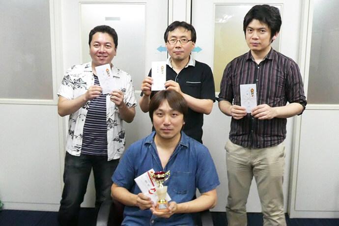 RMUスプリント第2戦・マーキュリーカップ 優勝は山田高広さん