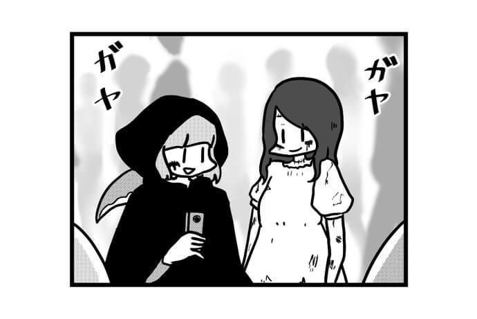 第1274話 女流雀士とハロウィン2018
