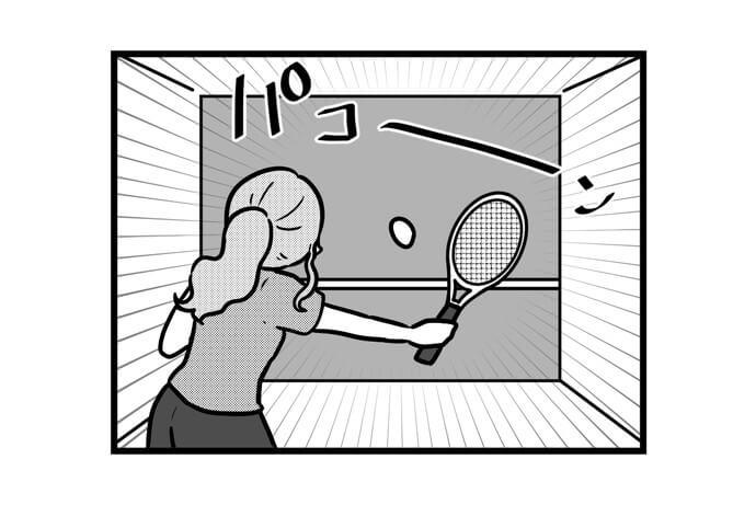 第1280話 女流雀士とテニス