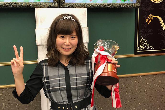 梅村日奈子が初の将妃に/第8期将妃決定戦