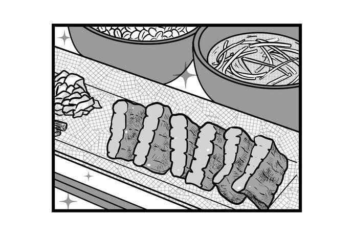 第1301話 女流雀士と牛タン定食