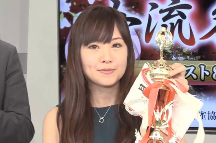 木崎ゆうが初優勝 逢川恵夢とのオーラスあがり競争を制する/第20期女流名人戦