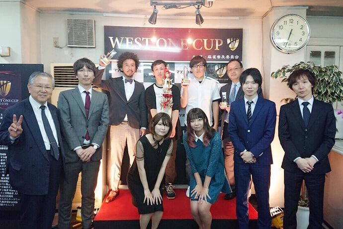 川村靖広さんが初優勝/ 第5回ヴェストワンカップ
