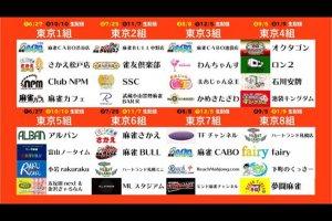 SSC東海が全員個人成績トップ10の活躍で首位に浮上/ 夕刊フジ杯争奪第14期麻雀女流リーグ西日本リーグ(名古屋)第3,4節 結果