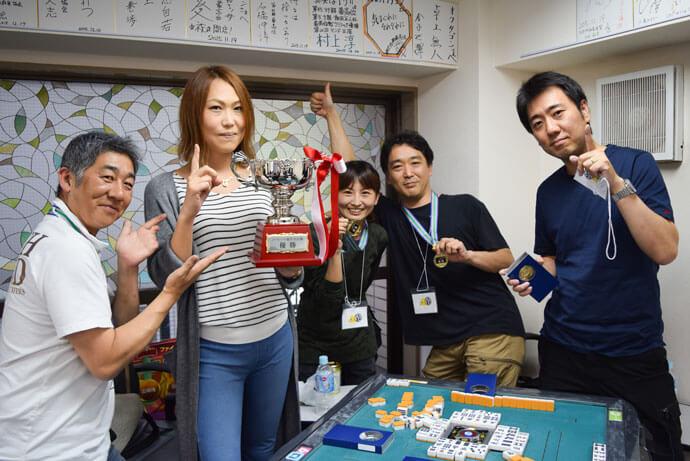 健康麻雀ひよこ堂が優勝 / ノーレート雀荘対抗戦