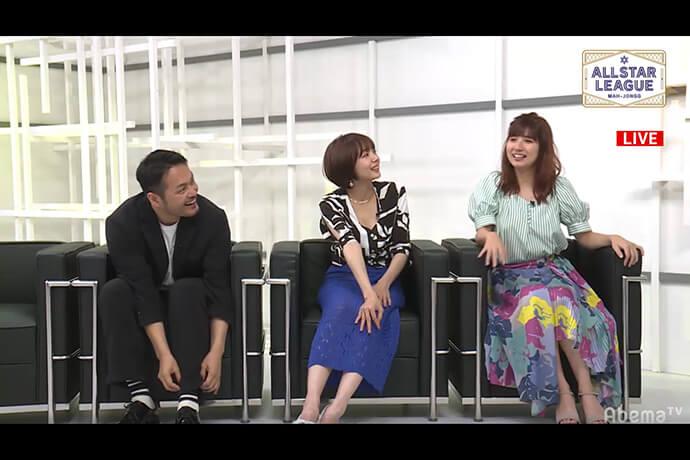 じゃいさん、岡田紗佳さんが安定した戦いでポイントを重ねる 阿部亮平さんが見事な四暗刻聴牌を披露 / ALL STAR League 7月12日対局