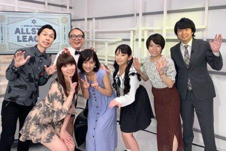 百合沙さんが大きくスコアを伸ばしトータル3位に浮上 次回は8月22日放送/ ALL STAR League 8月16日対局 結果
