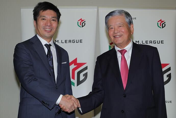 「この熱狂を外の世界へ広げていく」Mリーグ 川淵三郎最高顧問、藤田晋チェアマンインタビュー