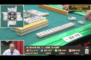 坂本大志がリードを広げて中盤戦に/第44期最高位決定戦 第2節結果