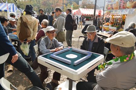 ふるさと渋谷フェスティバル2019にて青空麻雀が今年も出店 売上は台風19号の被災地へ