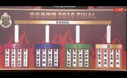 ファイナルの卓組が決定!昨年度最強位の近藤誠一はC卓で水口美香、仲林圭、伊藤優孝と対局 /麻雀最強戦2019 ファイナル