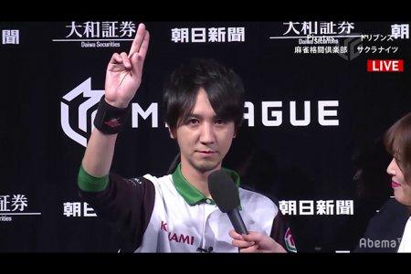 【1/13 Mリーグ 結果】KONAMI麻雀格闘倶楽部が寿人、藤崎と連勝!一気にプラスポイントに!