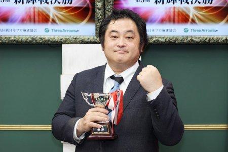 山田独歩が入会1年目でのタイトル奪取!/第3期新輝戦
