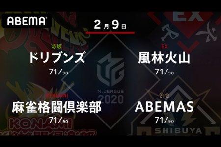 丸山 VS 亜樹 VS 高宮 VS 白鳥 5位、3位、6位、1位のチームの戦い!華々しいメンバーでの終盤戦!!【Mリーグ2020 2/9 第1試合メンバー】