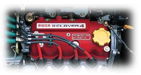 赤帽専用4気筒EGIエンジン