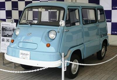 初代モデルスバル360
