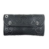 保証書付 W943 トライバル アナコンダ カスタム 蛇 財布 ウォレット画像