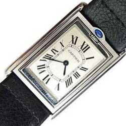 カルティエ タンクバスキュラント LM W1011358腕時計画像