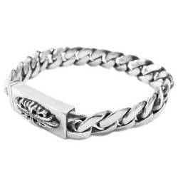 フローラルクロス ベビーID ダイヤ ブレスレット画像