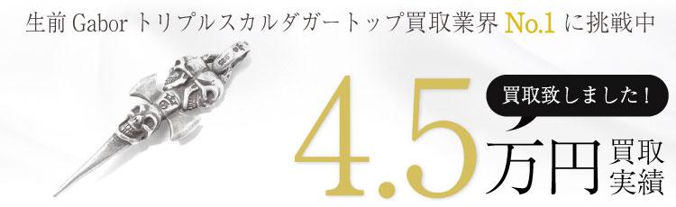生前Gaborガボールトリプルスカルダガートップ  4.5万買取 / 状態ランク:B