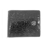 ガルニ 型押し レザー 二つ折り財布 画像