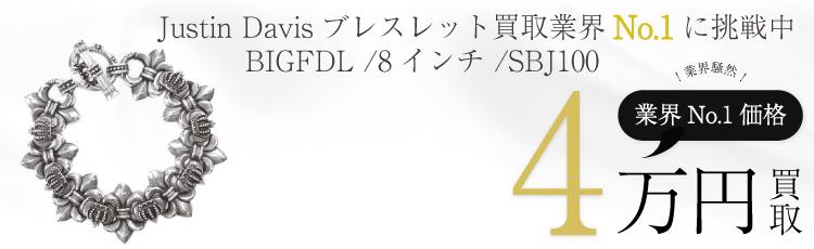 BIGFDLブレスレット8インチ / SBJ100 4万買取