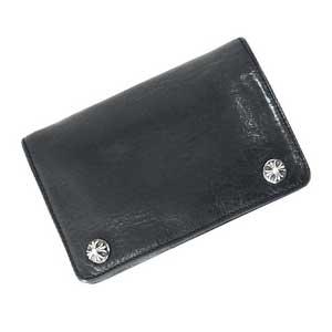 クロスボールボタン2ジップ財布画像