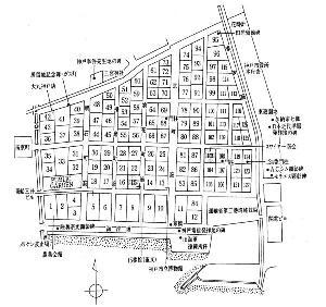 当時の居留地地図