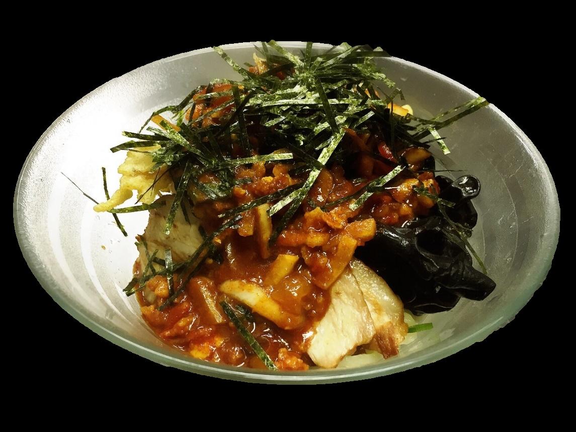 四代目考案「ピリ辛冷麺」