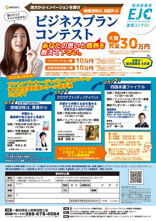 ビジネスプランコンテスト徳島 賞金