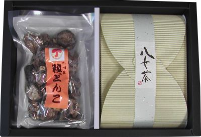 緑茶&椎茸