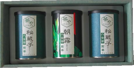 八女茶100g3缶入