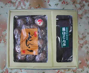 椎茸・こんぶセット
