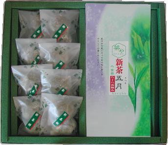 産茶五月・新茶もち