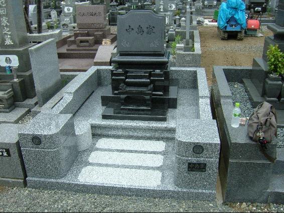 洋型墓石6