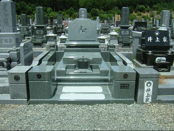 洋型墓石5