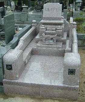 洋型墓石12