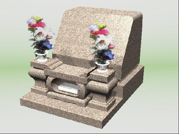 663洋型墓石