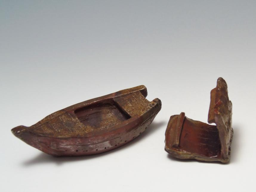 香炉 屋形船