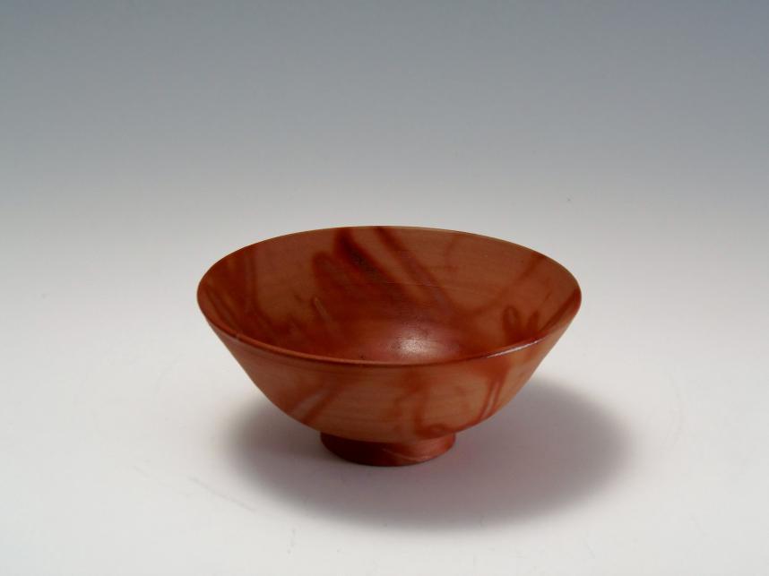 緋襷 備前焼 茶碗