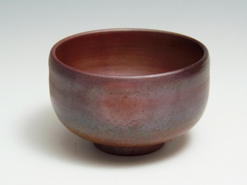 村上昭義 抹茶茶碗  備前焼