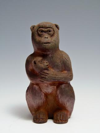 猿 (申) 置物
