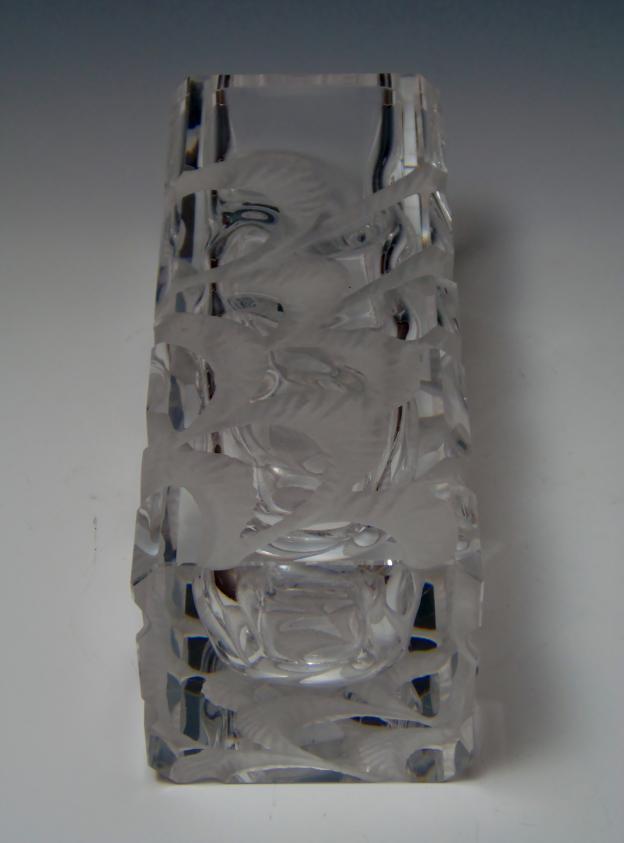 クリスタル 花瓶 中古
