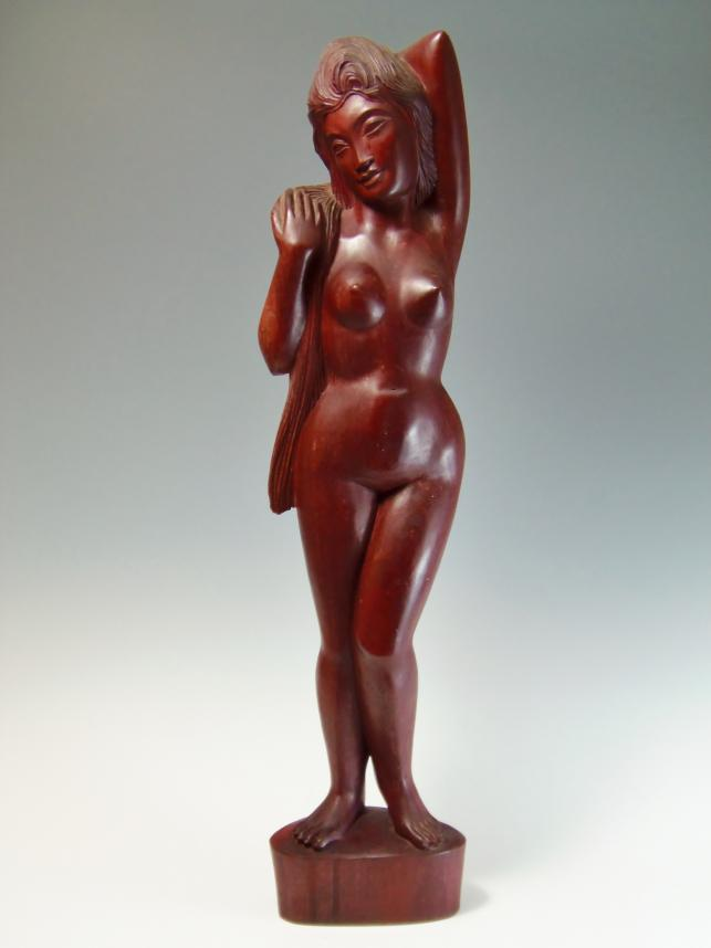 アジアン 木彫